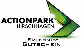 """Geldwert Gutschein """"Actionpark"""""""