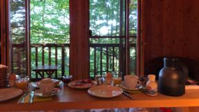 Frühstück zur Übernachtung