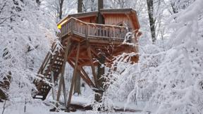 Übernachtung Winter in der Woche