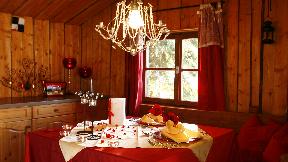 Klassisches Menü in der Böhmhof Alm