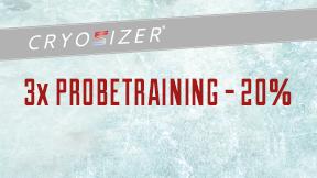 3x Probetraining in der Kältekammer