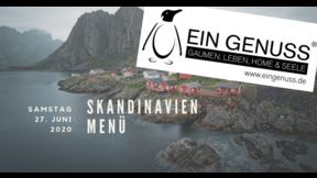 Skandinavien Menü