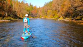 Gutschein für SUP Wildwassertour