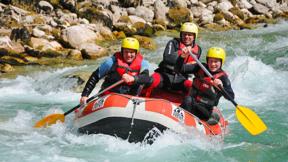 Gutschein für Mini Rafting Salza
