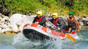Gutschein für Mini Rafting Salza XL