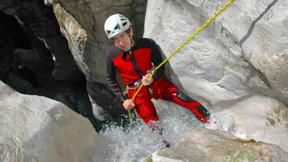 Gutschein für Rafting & Canyoning