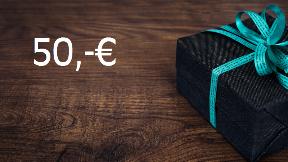 50,-€ Gutschein