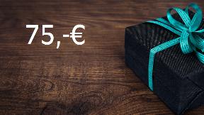 75,-€ Gutschein