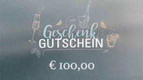 Geldwert Gutschein 100 €