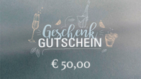 Geldwert Gutschein 50 €