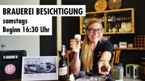 Brauerei Besichtigung // samstags // Beginn 16:30 Uhr