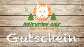 Gutschein AdventureGolf Harz Erw.