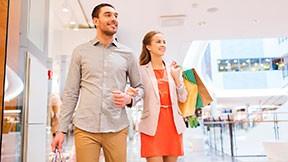 Shopping-Wochenende im Superior Doppelzimmer