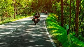 Motorrad-Tour für zwei im Superior-Doppelzimmer