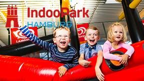 INDOO PARK 1 x Eintritt Kleinkind 1-2 Jahre
