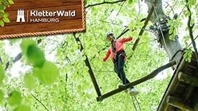 Kletterwald Hamburg 1 x Erwachsener
