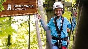 Kletterwald Hamburg 1 x Kind / Jugendlicher