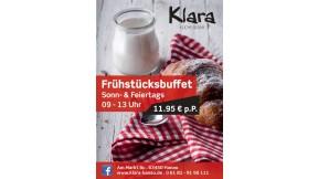 2x Frühstücksbuffet