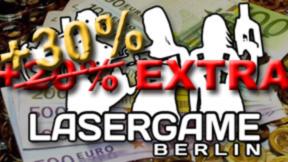 100€ + 30% EXTRA , ges. 130€ Wert