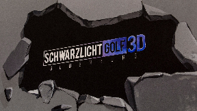Schwarzlicht Golf 3D