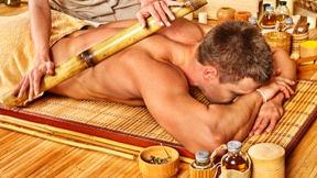 Hawaiianische Bambusmassage 30 Min.