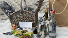 Strandhotel Strande - Picknick-Korb für 2