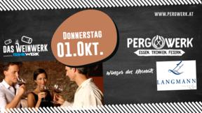 Weinwerk im PergWerk mit Weingut Langmann vulgo Lex am 01.10.2020
