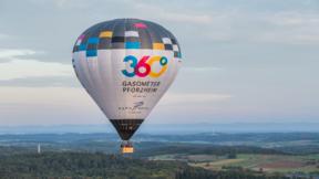 Fahrt im im Gasometerballon für 1 Person (als Einzelfahrt)
