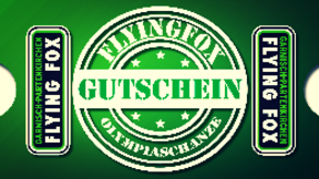 Flying Fox Gutschein ab 14 Jahre