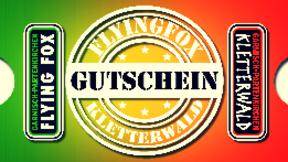Kombi Gutschein Junior Kletterwald+Flying Fox GAP