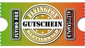 Kombi Gutschein Kletterwald und Flying Fox ab 14 Jahre