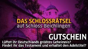 Schlossrätsel Team-Gutschein