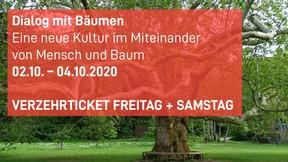 Dialog mit Bäumen-Verzehr-Ticket
