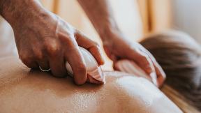Südseemuschel Massage