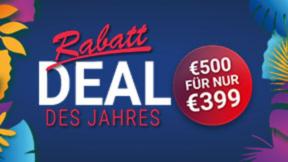 Rabatt-Deal des Jahres // 399€