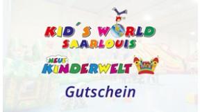 Gutschein für 1 Erwachsener & 1 Kind