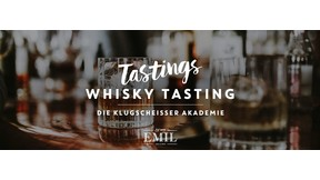 """Samstag, 01.05.2021 """"Whisky Tasting: Die Klugscheisser Akademie"""""""