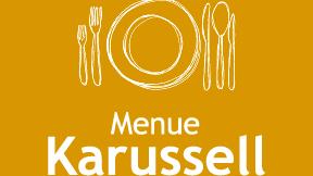 Menü Karussell