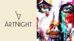 Private ArtNight Ticket: Abstraktes Portrait