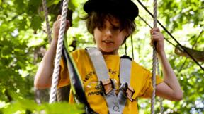 Kind bis 14 in den Großen Parcours