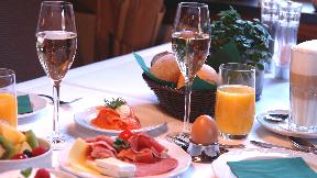 Sekt-Frühstück bei Wellings