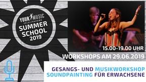 Summerschool: Gesangs-/Musikworkshop Soundpainting für Erwachsene 29.06.2019