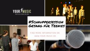 SCHNUPPERSESSION FÜR TEENIES - 03.05.2019