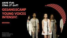Gesangscamp Young Voices Intensiv für Kids und Teenies