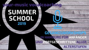 SUMMERSCHOOL: YOUNG VOICES – GESANGSWORKSHOP FÜR KIDS 30.07.2019